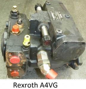 reparation pompe hydraulique rexroth A4VG